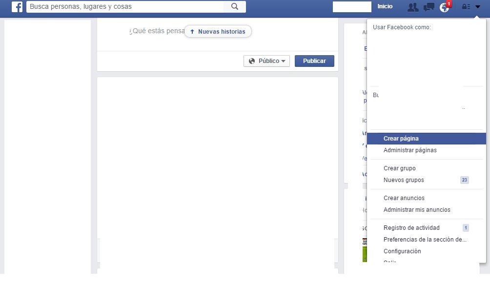 Crear Facebook 1
