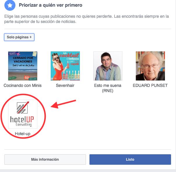 Hotel Up Algoritmo Facebook cambio 1