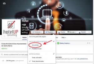 Hotel Up Algoritmo Facebook cambio 4